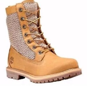Women Timberland Authentic Open Weave Boots NW
